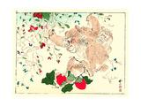 Kyosai Rakuga - Monkeys Giclee Print by Kyosai Kawanabe