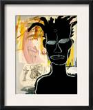 Untitled, 1984 Framed Giclee Print by Jean-Michel Basquiat