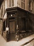 Coin, Boulevard de la Chapelle et Rue Fleury 76, 18E, June 1921 Photographic Print by Eugène Atget