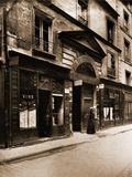 Hotel Turgot Rue Portefoin Photographic Print by Eugène Atget