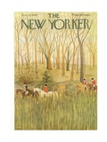 The New Yorker Cover - November 23, 1963 Regular Giclee Print by Ilonka Karasz