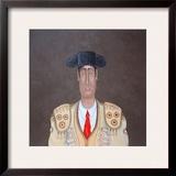 The Matador Framed Giclee Print by John Wright