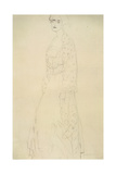 Woman Standing with Arms Dangling Giclee Print by Gustav Klimt