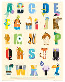 Disney - Alphabet - Poster