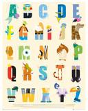 Disney - Alphabet Posters