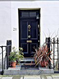 Number 21, Antique Door in London Photographic Print by Anna Siena