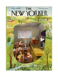 The New Yorker Cover - May 20, 1950 Regular Giclee Print by Ilonka Karasz
