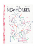 The New Yorker Cover - December 17, 1990 Regular Giclee Print by R.O. Blechman