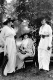 Middle-Class, Three Elegant, 1913 Photographic Print by Brothers Seeberger