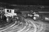 Dirt Track Racing 1964 Archival Photo Poster Posters