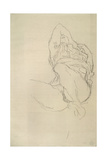 Seated Woman with Covered Face Giclee Print by Gustav Klimt