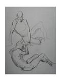 Two Studies Giclee Print by Nobu Haihara
