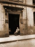 17 Rue Radzinville Hotel Maupeou Photographie par Eugène Atget