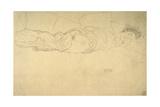 Reclining Woman Giclee Print by Gustav Klimt