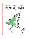 The New Yorker Cover - December 19, 1988 Regular Giclee Print by R.O. Blechman