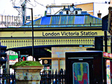 London Victoria Station Photographic Print by Anna Siena
