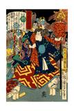 Tengu Kozô Kiritarô, from the Series Sagas of Beauty and Bravery Giclée-tryk af Yoshitoshi Tsukioka