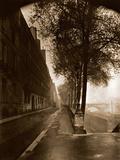 Quai D'Anjou,Paris 1926 Fotografie-Druck von Eugène Atget