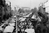 Marseilles the Market of the Julien Course Photographic Print by Brothers Seeberger
