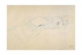 Reclining Woman 2 Giclee Print by Gustav Klimt