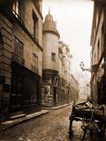 Rue Hautefeuille, 6th Arrondissement 1898 Fotografie-Druck von Eugène Atget