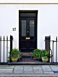 Number 17, Antique Door in London Photographic Print by Anna Siena