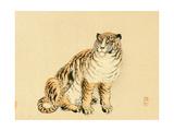 Bairei Gadan - Tiger Giclee Print by Bairei Kono