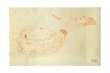Reclining Nude Impressão giclée por Gustav Klimt