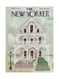 The New Yorker Cover - March 25, 1974 Regular Giclee Print by Laura Jean Allen