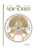 The New Yorker Cover - November 24, 1962 Premium Giclee Print by Anatol Kovarsky
