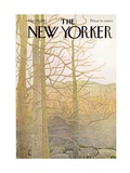 The New Yorker Cover - March 25, 1972 Regular Giclee Print by Ilonka Karasz