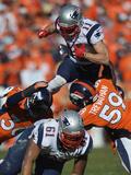 NFL Playoffs 2014: Jan 19, 2014 - 49ers vs Seahawks - Julian Edelman Photo av Jack Dempsey