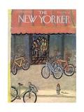 The New Yorker Cover - September 25, 1954 Regular Giclee Print by Abe Birnbaum