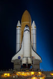 Space Shuttle Atlantis Pre Launch Kennedy Space Center July 2011 Night 3 Photo