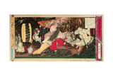 Picture of Japanese History - Dancing for the Sun Goddess Giclee Print by Yoshitoshi Tsukioka