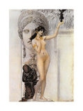 Allegory of Sculpture Giclee Print by Gustav Klimt
