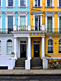 Apartment Number 29 and 31, Notting Hill in London Photographic Print by Anna Siena