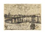 Starry Night over the Rhône Giclee Print by Vincent van Gogh