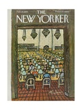 The New Yorker Cover - February 25, 1961 Premium Giclee Print by Abe Birnbaum