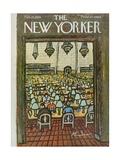 The New Yorker Cover - February 25, 1961 Regular Giclee Print by Abe Birnbaum