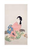 Daughter Miyuki Giclee Print by Shoen Uemura