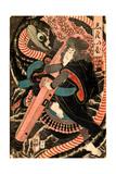 Jiraiya Giclee Print by Yoshitsuya Utagawa