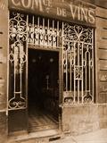 Grille de Marchand de Vins, Rue des Ciseaux Photographic Print by Eugène Atget