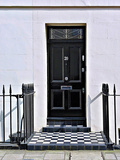 Number 20, Antique Door in London Photographic Print by Anna Siena