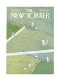 The New Yorker Cover - July 21, 1975 Regular Giclee Print by R.O. Blechman