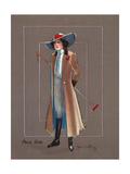 Polo Girl Giclee Print by Hamilton King