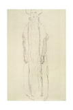 Standing Woman with Arms Dangling Giclee Print by Gustav Klimt