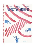 The New Yorker Cover - July 2, 1984 Regular Giclee Print by R.O. Blechman