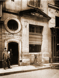 Fontaine Colbert Photographic Print by Eugène Atget