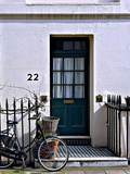 Number 22, Antique Door in London Photographic Print by Anna Siena
